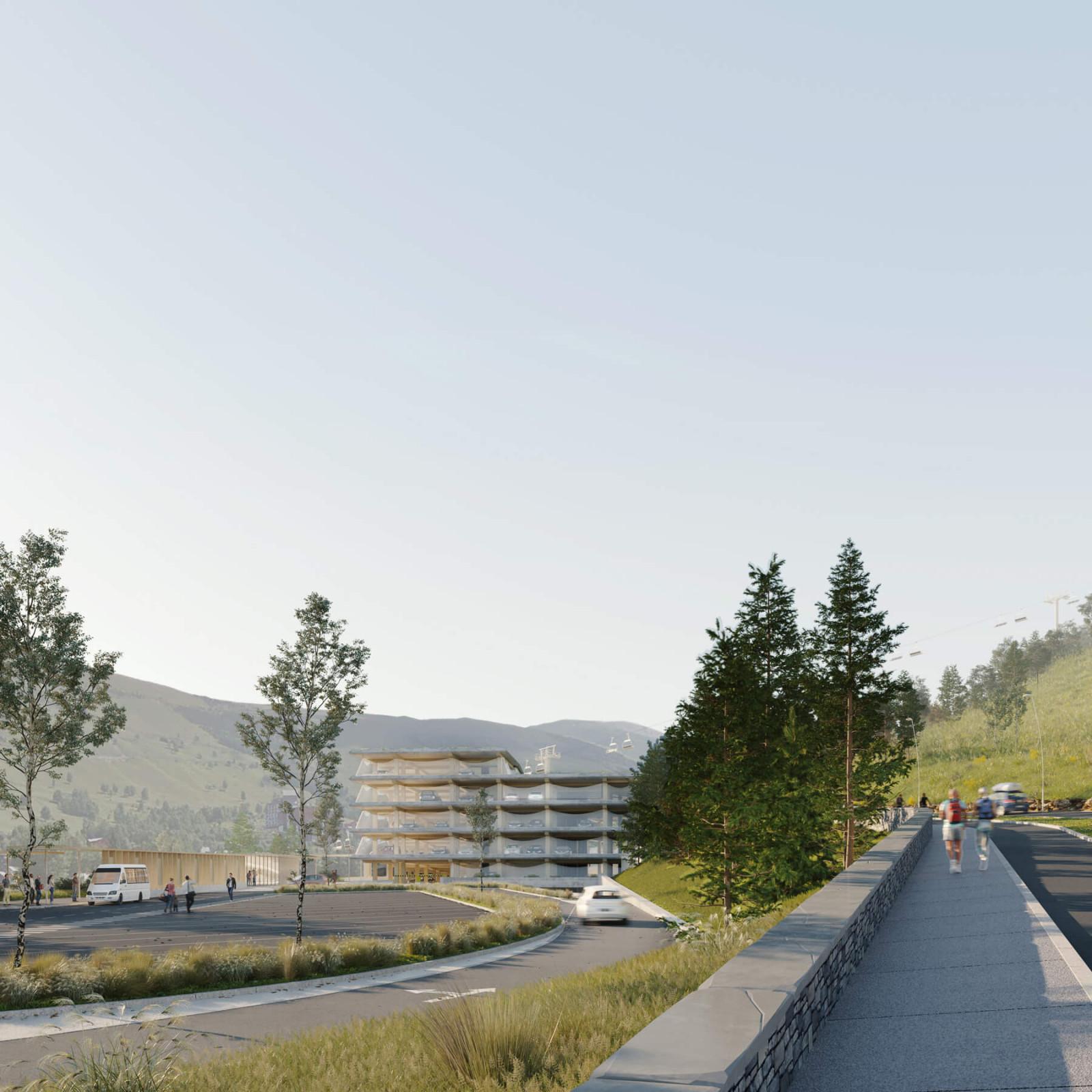 graam-les-deux-alpes-02-parking-amenagement-urbain-exterieur-paysage-montagne